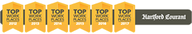 Norcm has been voted one of the Hartford Courant's Top Workplaces for 6 years running